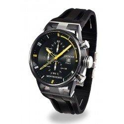 Locman Men's Watch Montecristo Quartz Chronograph 0510BKBKFYL0GOK