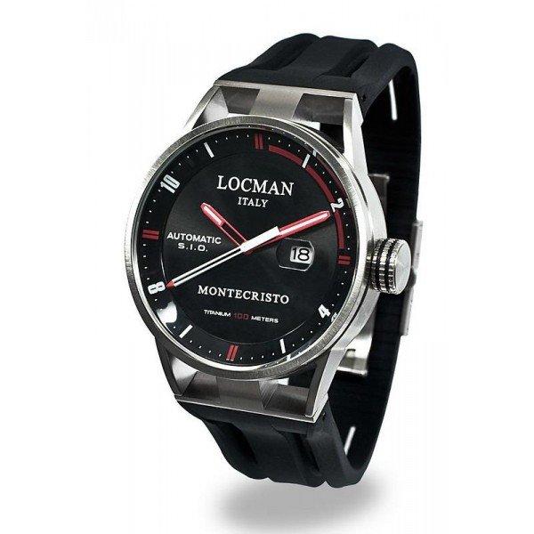 Buy Locman Men's Watch Montecristo Automatic 051100BKFRD0GOK