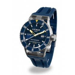 Locman Men's Watch Montecristo Professional Diver Automatic 051300BYBLNKSIB