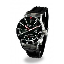 Locman Men's Watch Montecristo Professional Diver Automatic 051300KRBKNKSIK