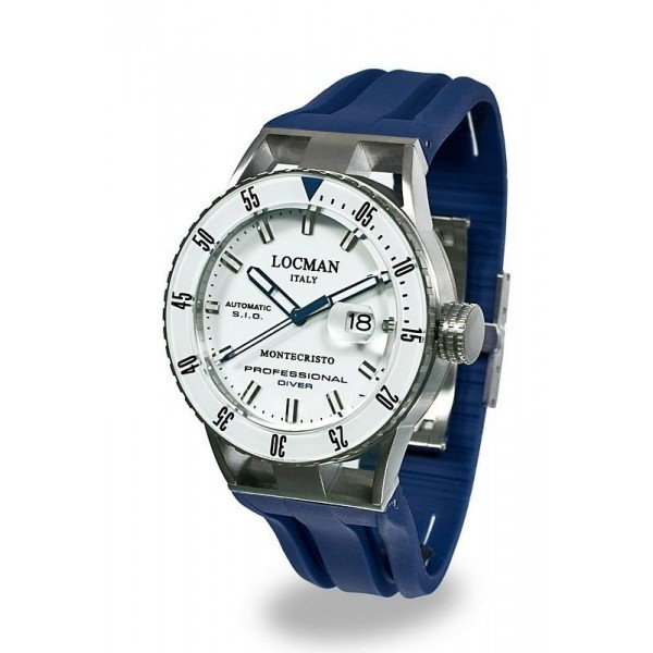 Buy Locman Men's Watch Montecristo Professional Diver Automatic 051300WBWHNKSIB