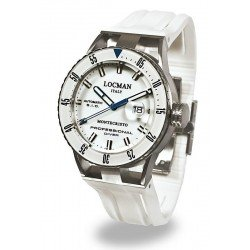 Locman Men's Watch Montecristo Professional Diver Automatic 051300WBWHNKSIW