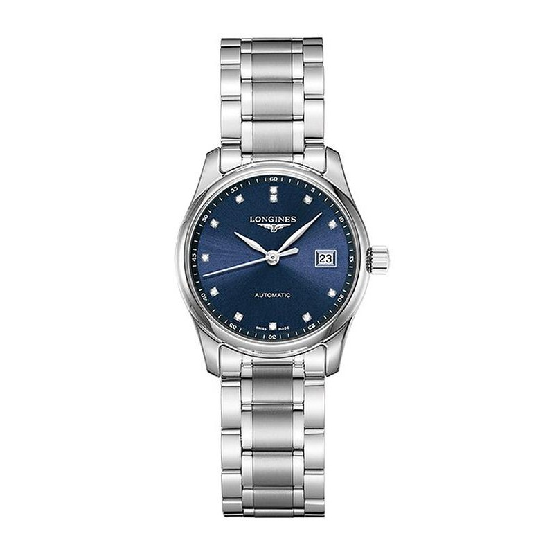 Immediate Credit Card >> Longines Women's Watch Master Collection L22574976 Automatic