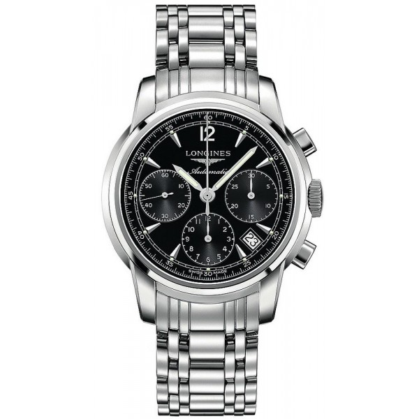 Buy Longines Men's Watch Saint-Imier L27524526 Automatic Chronograph