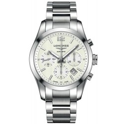 Buy Longines Men's Watch Conquest Classic L27864766 Chronograph Automatic