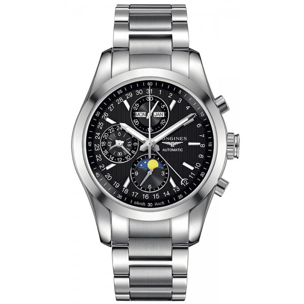 Buy Longines Men's Watch Conquest Classic Chronograph Automatic L27984526