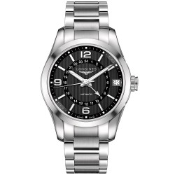 Longines Men's Watch Conquest Classic L27994566 GMT Automatic