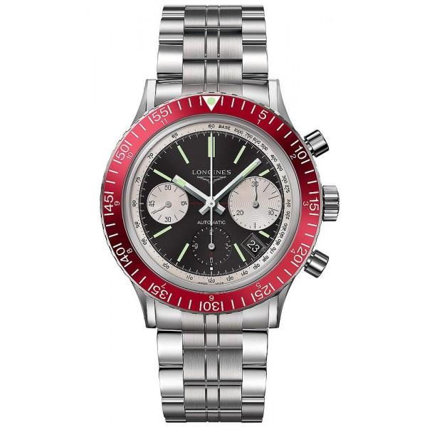Buy Longines Men's Watch Heritage Diver 1967 L28084526 Automatic Chronograph
