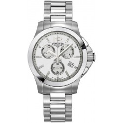 Longines Unisex Watch Conquest Classic L32794766 Quartz Chronograph