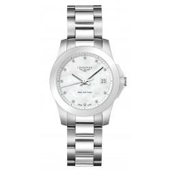 Buy Longines Women's Watch Conquest L33774876 Quartz