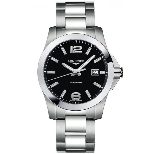 Buy Longines Men's Watch Conquest L36594586 Quartz