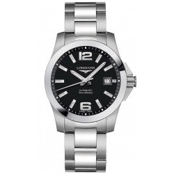 Buy Longines Men's Watch Conquest L36764586 Automatic