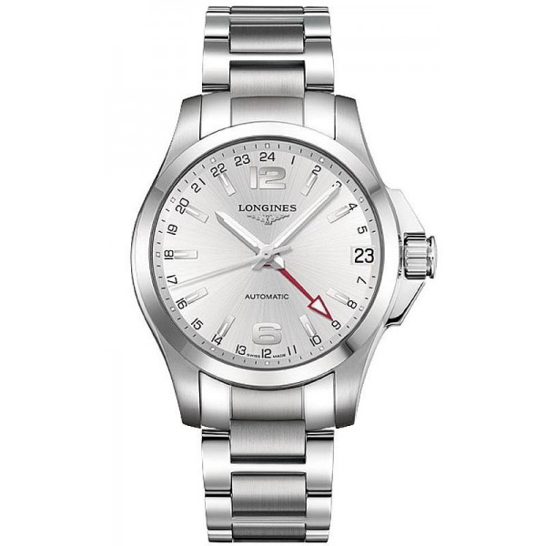 Buy Longines Men's Watch Conquest L36874766 GMT Automatic
