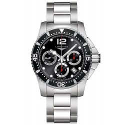 Longines Men's Watch Hydroconquest Automatic Chronograph L37444566
