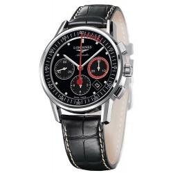 Longines Men's Watch Heritage Column-Wheel Chronograph Record Automatic L47544523