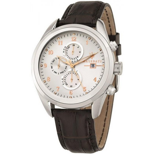 Buy Maserati Men's Watch Traguardo R8871612003 Quartz Chronograph