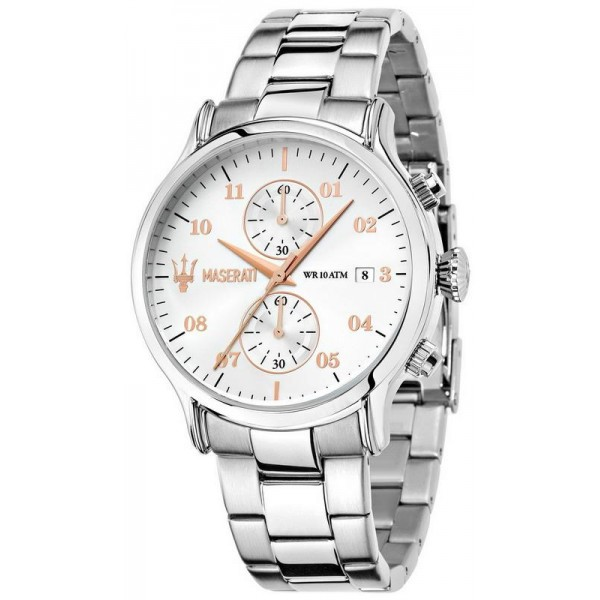 Buy Maserati Men's Watch Epoca R8873618002 Quartz Chronograph
