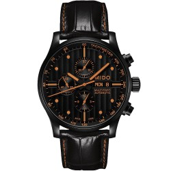 Mido Men's Watch Multifort M0056143605122 Chronograph Automatic