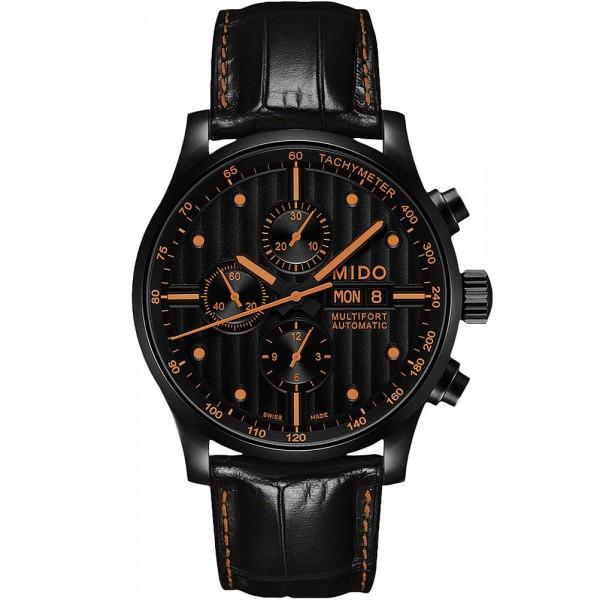 Buy Mido Men's Watch Multifort Automatic Chronograph M0056143605122