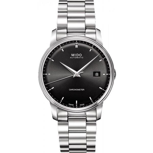 Buy Mido Men's Watch Baroncelli III COSC Chronometer Automatic M0104081105100