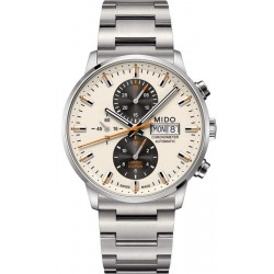 Mido Men's Watch Commander II COSC Automatic Chronograph M0164151126100