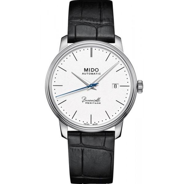 Buy Mido Men's Watch Baroncelli III Heritage M0274071601000 Automatic