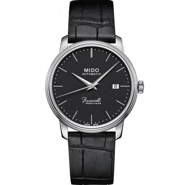 Buy Mido Men's Watch Baroncelli III Heritage M0274071605000 Automatic