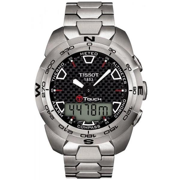 Buy Tissot Men's Watch T-Touch Expert Titanium T0134204420100