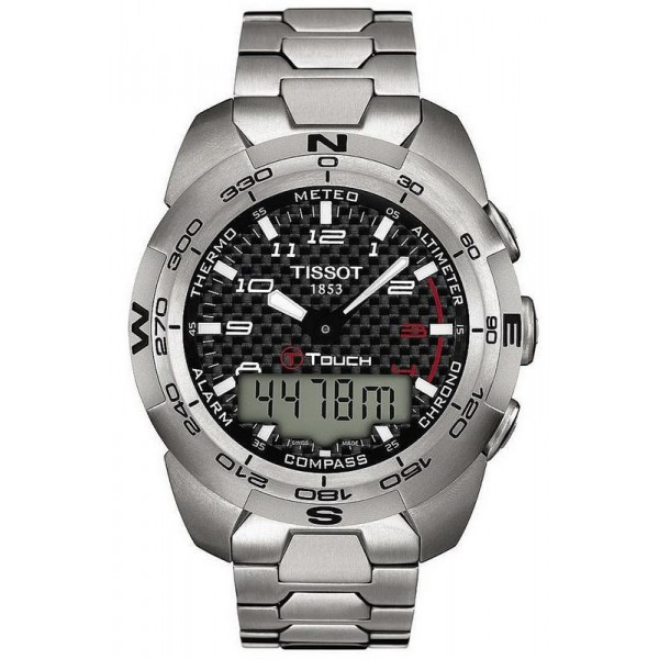 Buy Tissot Men's Watch T-Touch Expert Titanium T0134204420200