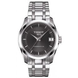 Tissot Women's Watch T-Classic Couturier Powermatic 80 T0352071106100
