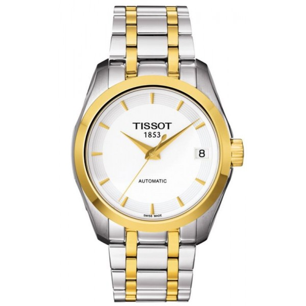 Buy Tissot Women's Watch T-Classic Couturier Automatic T0352072201100
