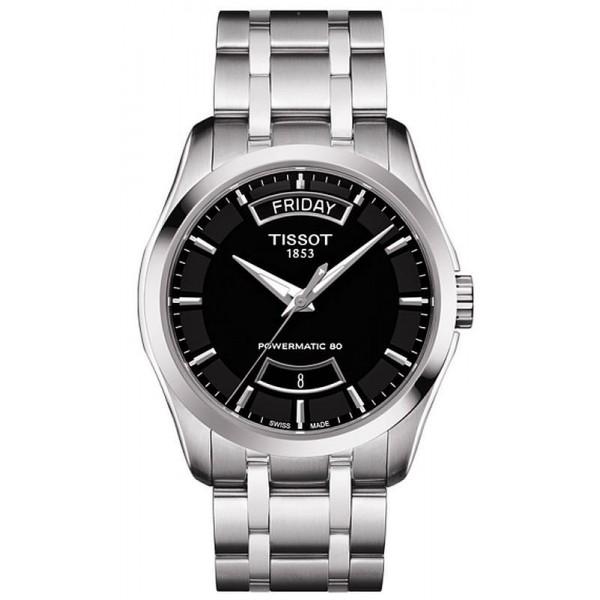Buy Tissot Men's Watch T-Classic Couturier Powermatic 80 T0354071105101