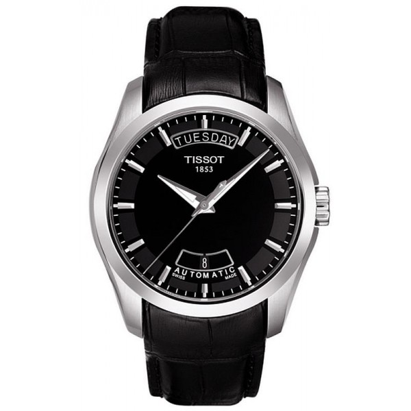 Buy Tissot Men's Watch T-Classic Couturier Automatic T0354071605100