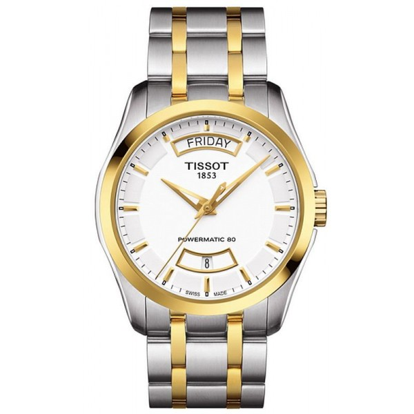 Buy Tissot Men's Watch T-Classic Couturier Powermatic 80 T0354072201101