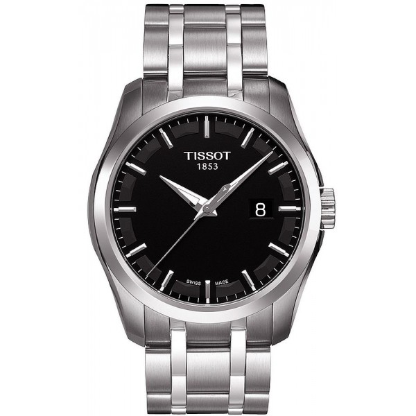 Buy Tissot Men's Watch T-Classic Couturier Quartz T0354101105100