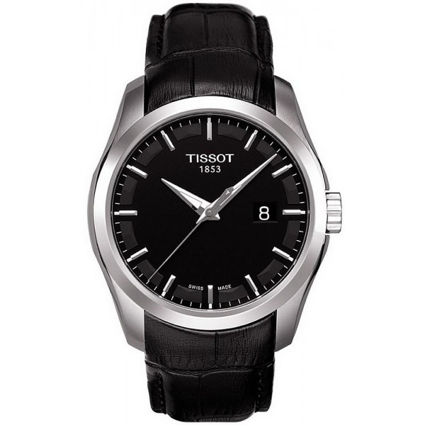 Buy Tissot Men's Watch T-Classic Couturier Quartz T0354101605100