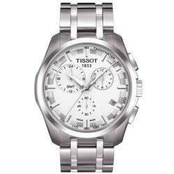 Tissot Men's Watch T-Classic Couturier GMT T0354391103100 Chronograph
