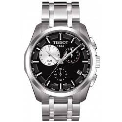 Tissot Men's Watch T-Classic Couturier GMT T0354391105100 Chronograph