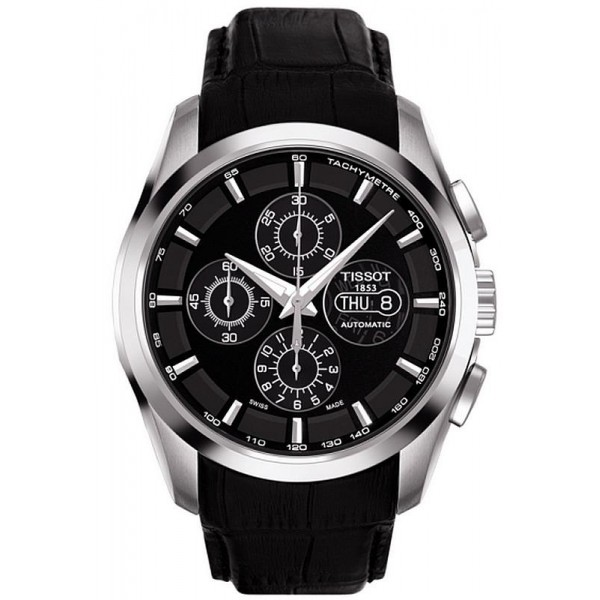 Buy Tissot Men's Watch Couturier Automatic Chronograph Valjoux T0356141605100