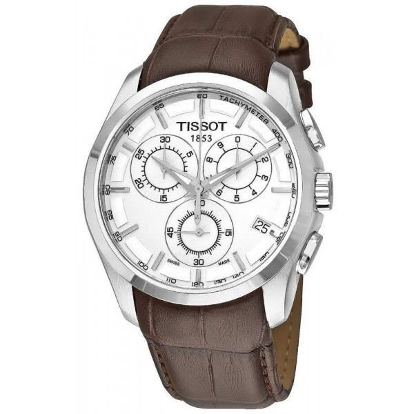 Buy Tissot Men's Watch T-Classic Couturier Chronograph T0356171603100