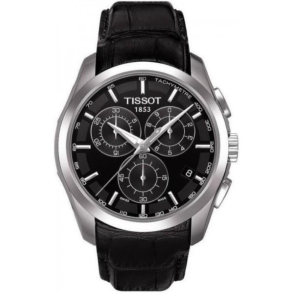 Buy Tissot Men's Watch T-Classic Couturier Chronograph T0356171605100