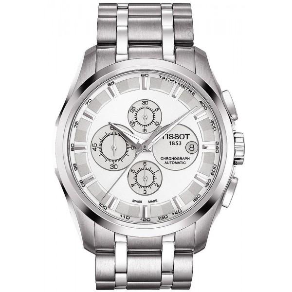 Buy Tissot Men's Watch Couturier Automatic Chronograph T0356271103100