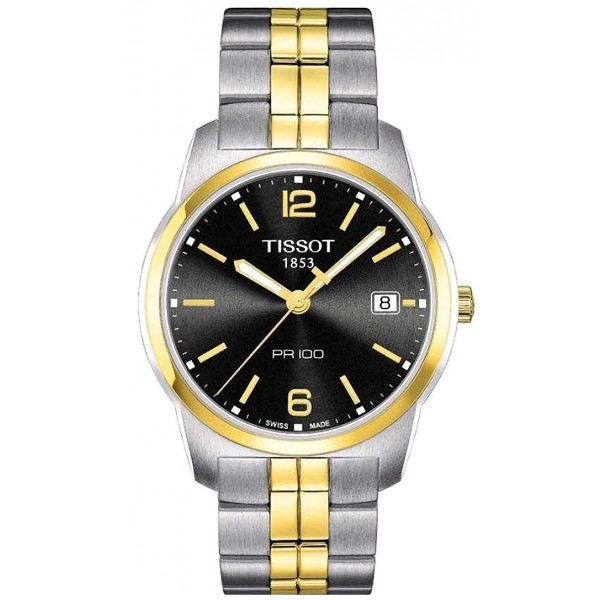 Buy Tissot Men's Watch T-Classic PR 100 Quartz T0494102205701