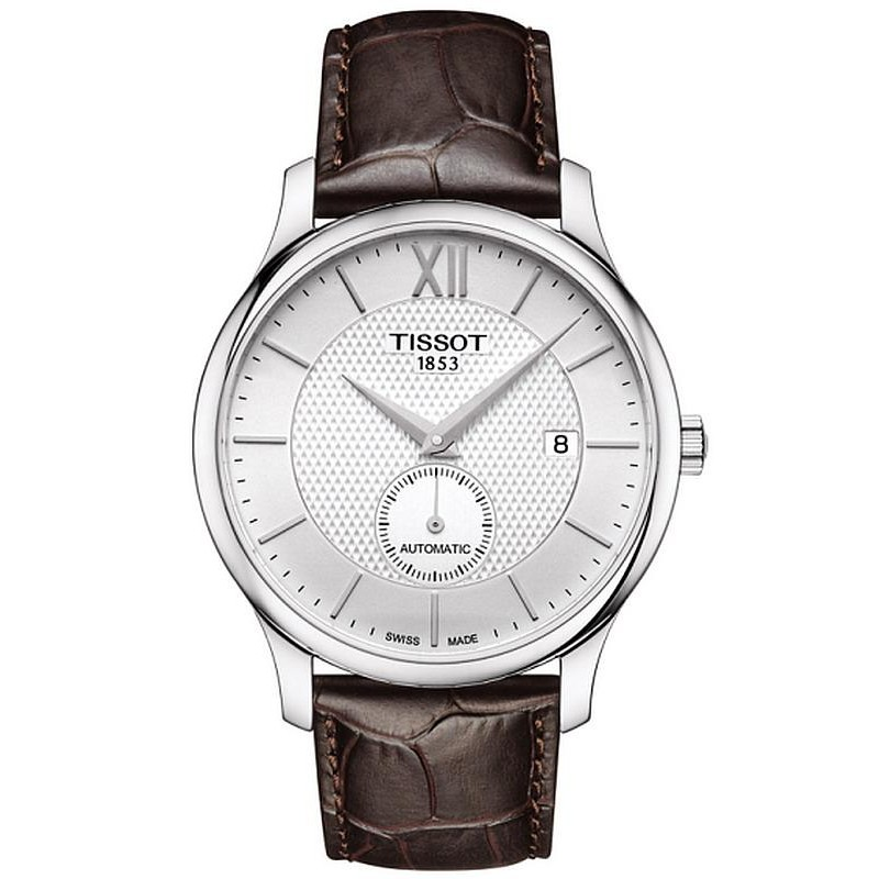 Tissot T0634281603800 T Classic Tradition Automatic Small Second Mens Watch At Discounted Price