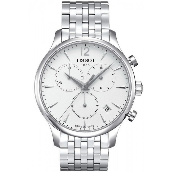 Buy Tissot Men's Watch T-Classic Tradition Chronograph T0636171103700