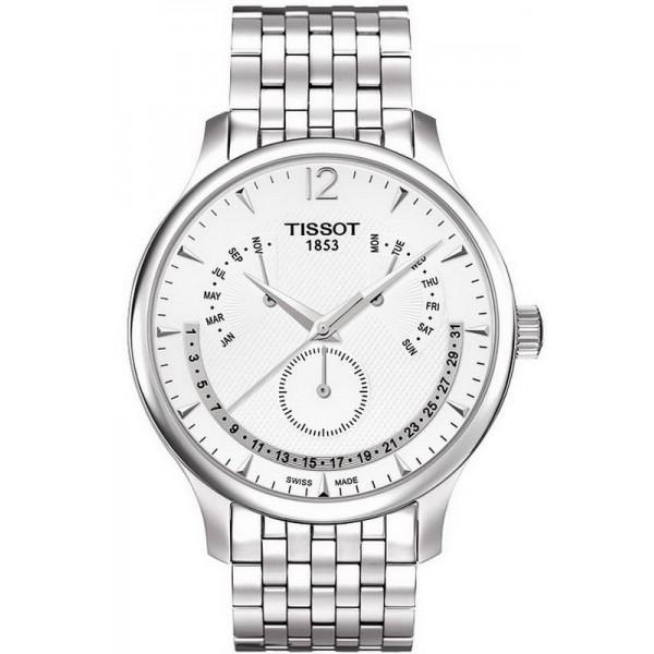 Buy Tissot Men's Watch Tradition Perpetual Calendar T0636371103700