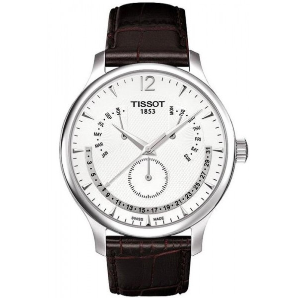 Buy Tissot Men's Watch Tradition Perpetual Calendar T0636371603700