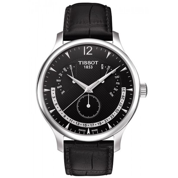 Buy Tissot Men's Watch Tradition Perpetual Calendar T0636371605700