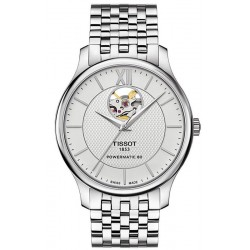 Tissot Men's Watch Tradition Powermatic 80 Open Heart T0639071103800