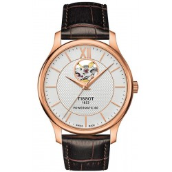 Tissot Men's Watch Tradition Powermatic 80 Open Heart T0639073603800